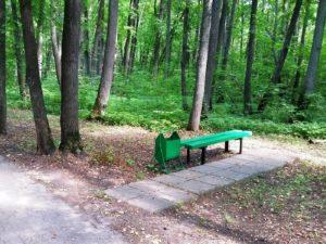 Прогулки на досуге в парке санатория им Ленина Ульяновской области
